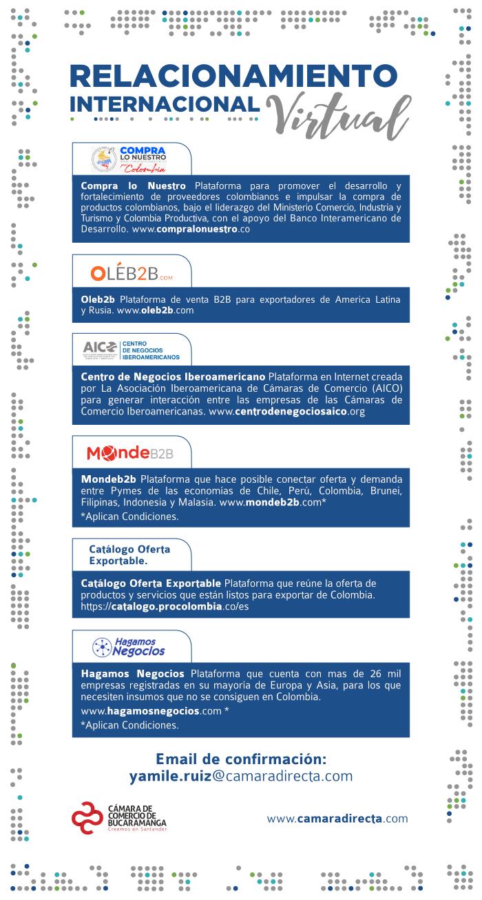 internacionalización - Relacionamiento Internacional