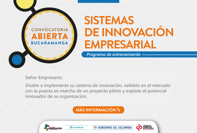 innovación - Resultados Convocatoria #1 Programa Sistemas de Innovación
