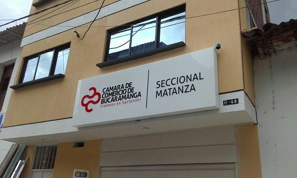 Cámara de Comercio de Bucaramanga inaugura nueva seccional en Matanza