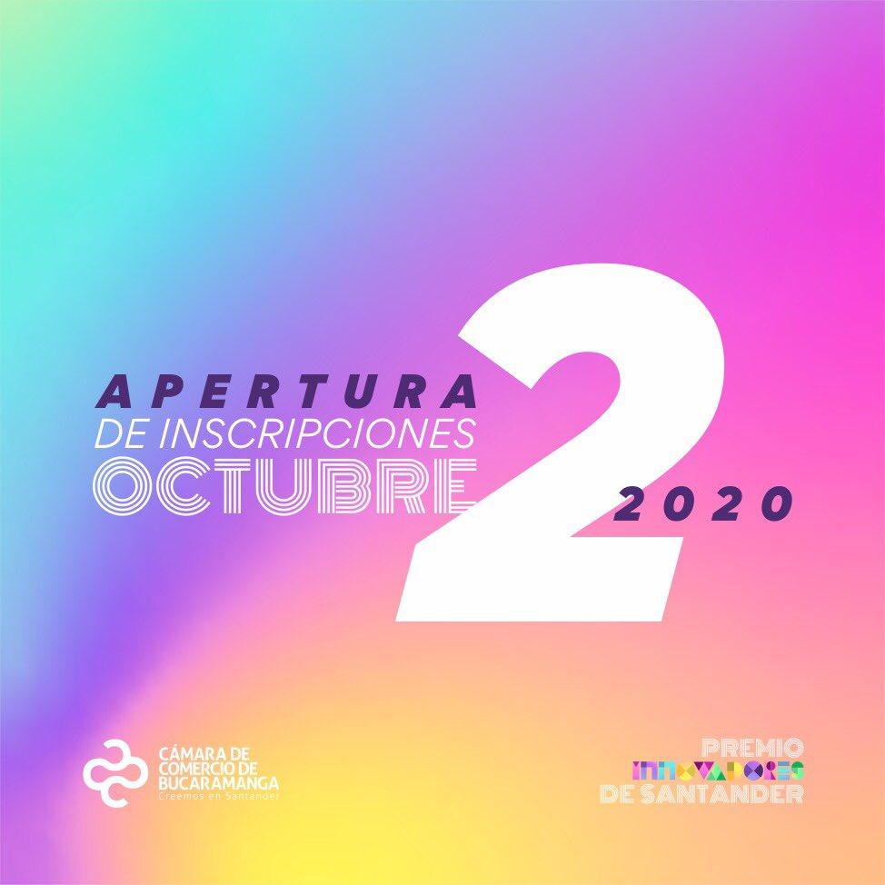 Empresarios resilientes ante la pandemia serán reconocidos en el premio Innovadores de Santander 2020