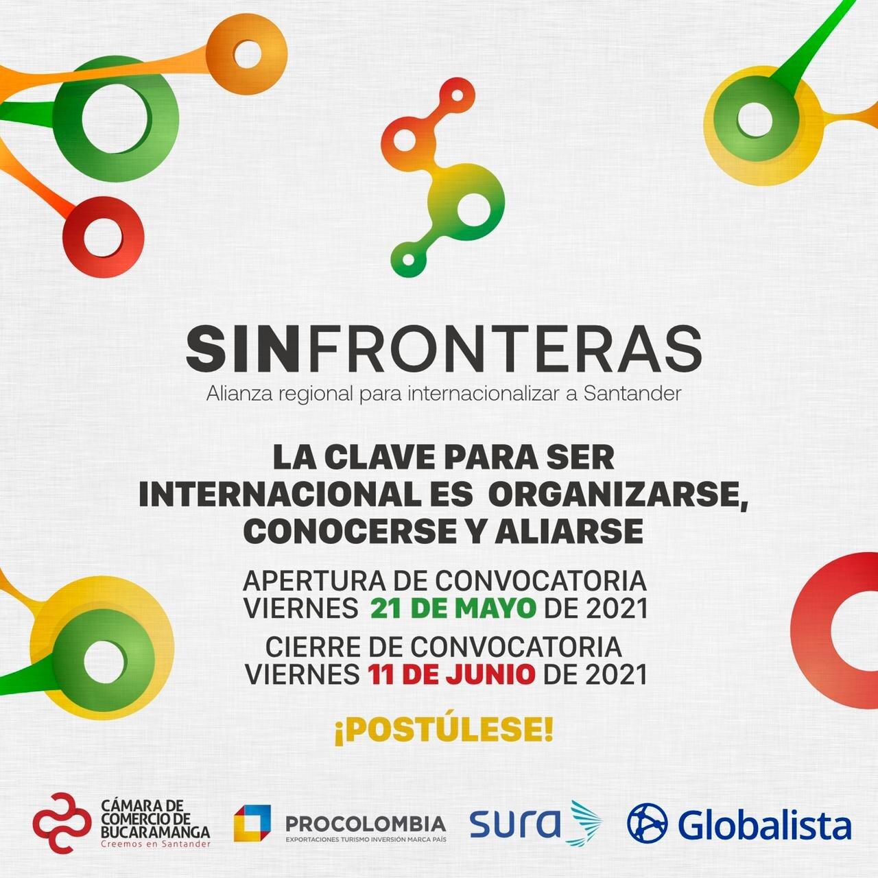Sin Fronteras, nuevo programa de la Cámara de Comercio de Bucaramanga para internacionalizar a Santander