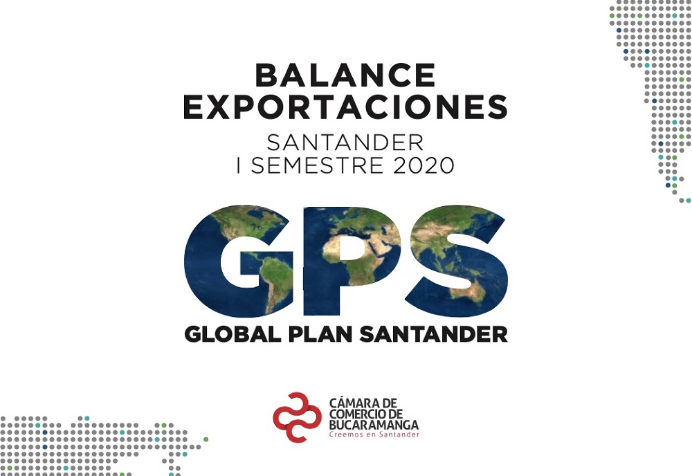 Santander aumentó 10,5% sus exportaciones no minero energéticas en el primer semestre de 2020