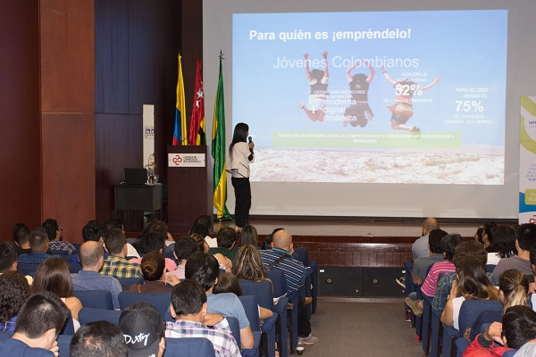 Inició de manera exitosa 'Empréndelo', el nuevo programa de la Cámara de Comercio de Bucaramanga