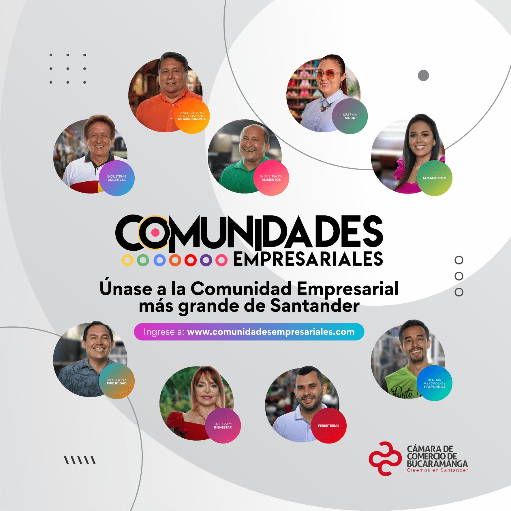 Comunidades Empresariales: una apuesta de la Cámara de Comercio de Bucaramanga para fortalecer a las micro y pequeñas empresas de Santander