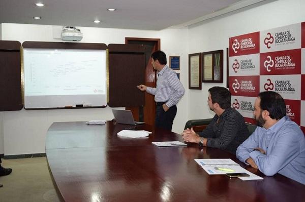 Cámara de Comercio de Bucaramanga presentó resultados del primer estudio de competitividad de los municipios de Santander