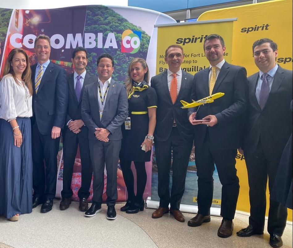 Nueva ruta aérea directa operada por Spirit Airlines conectará a Bucaramanga con los Estados Unidos