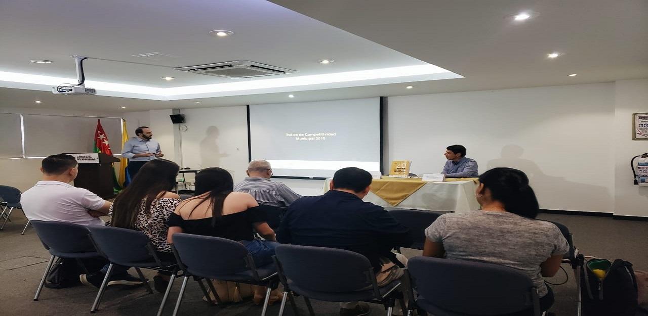 Se presentó el Índice de Competitividad Municipal de Santander 2019