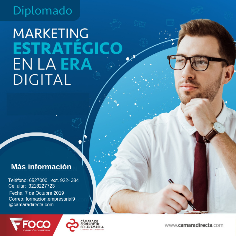 DIPLOMADO  MARKETING ESTRATÉGICO EN LA ERA DIGITAL