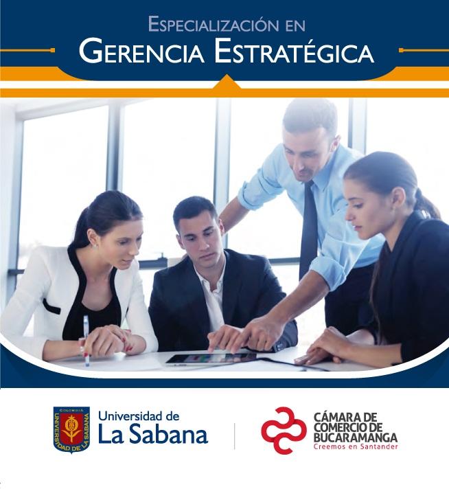 Especialización Gerencia Estratégica