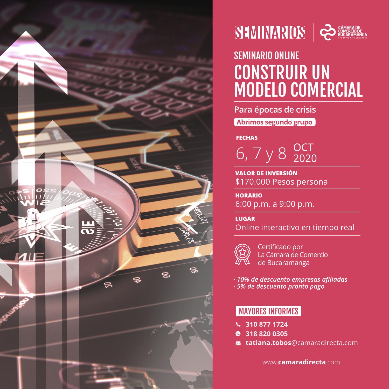 SEMINARIO ONLINE CONSTRUIR UN MODELO COMERCIAL PARA EPOCAS DE CRISIS